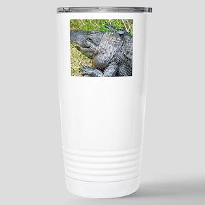Louisiana Gator Stainless Steel Travel Mug