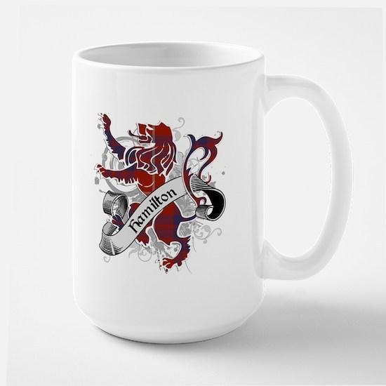 Hamilton Tartan Lion Large Mug