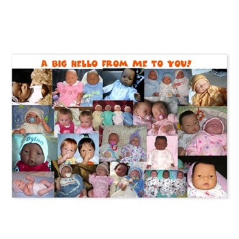 Baby Dolls Postcards (Package of 8)