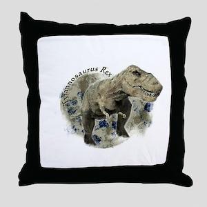 trex dinosaur Throw Pillow