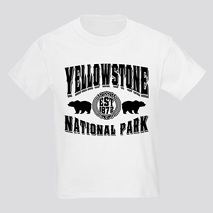 Yellowstone Established 1872 Kids Light T-Shirt