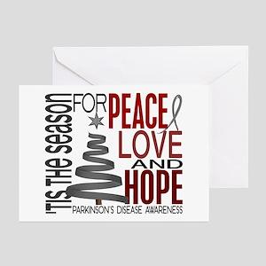 Christmas 1 Parkinson's Disease Greeting Cards (Pk