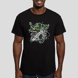 Henderson Tartan Lion Men's Fitted T-Shirt (dark)