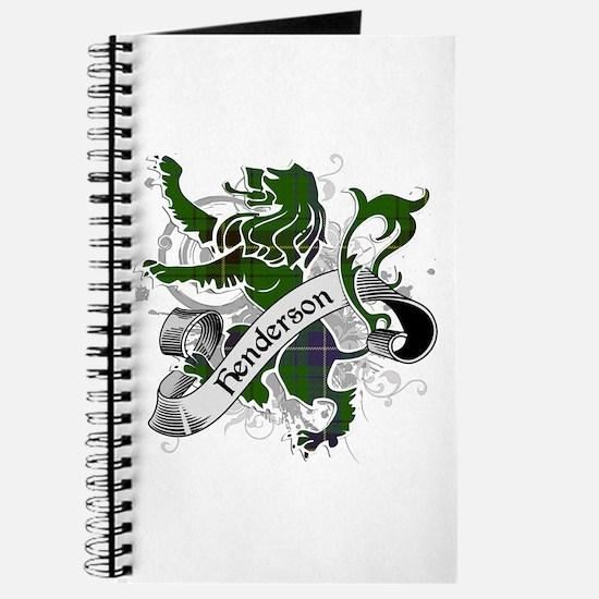 Henderson Tartan Lion Journal
