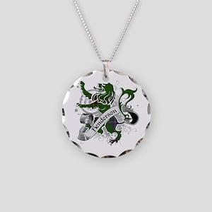 Henderson Tartan Lion Necklace Circle Charm