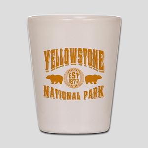 Yellowstone Established 1872 Shot Glass