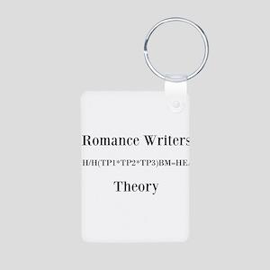 Theory of Romance Aluminum Photo Keychain