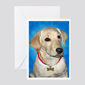 Maggie the Lab Greeting Card