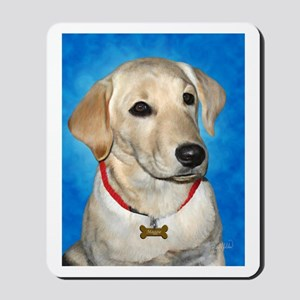 Maggie the Lab Mousepad