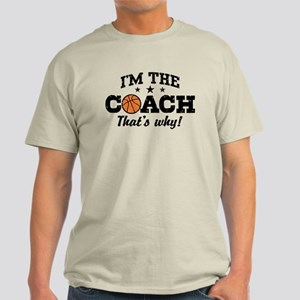 Basketball Coach Light T-Shirt