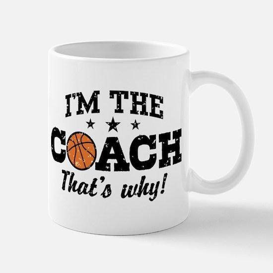 Basketball Coach Mug