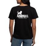 AW Women's Dark T-Shirt (Logo on Back)