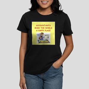 accountants Women's Dark T-Shirt