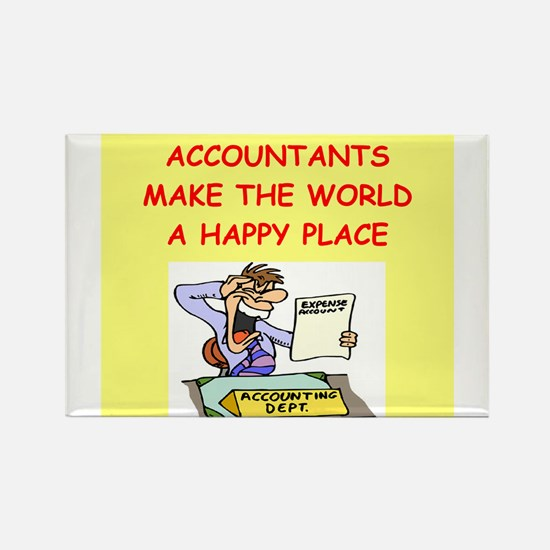 accountants Rectangle Magnet