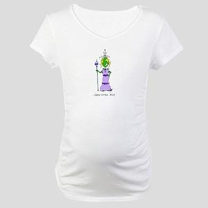 Queen Esther Bible Biddy Maternity T-Shirt