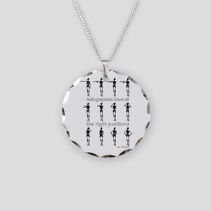 Hey Macarena! Necklace Circle Charm