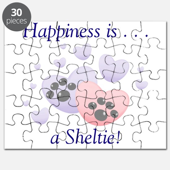 Happiness is...a Sheltie Puzzle