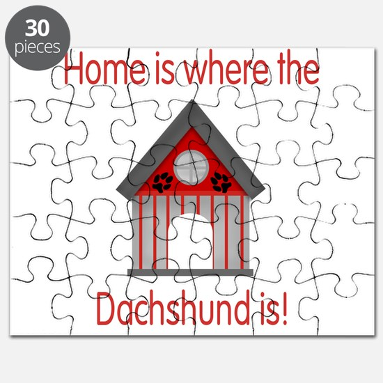 Home is where the Dachshund i Puzzle