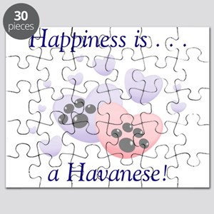 Happiness is...a Havanese Puzzle