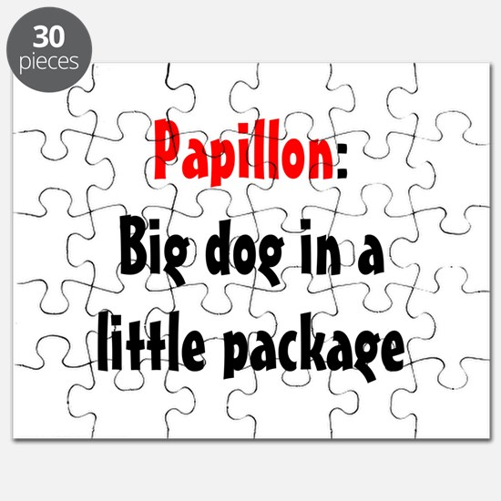 Papillon: Big dog in a little Puzzle