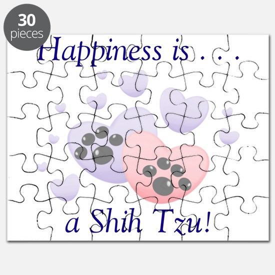 Happiness is...a Shih Tzu Puzzle
