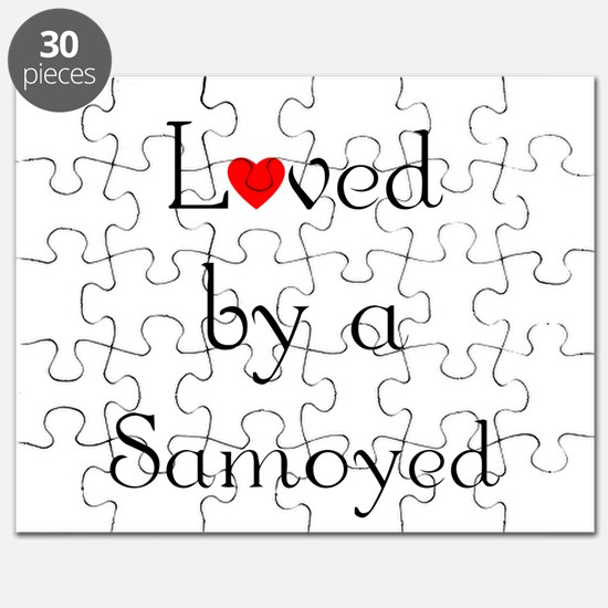 Loved by a Samoyed Puzzle