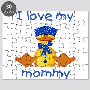 I love my mommy (boy ducky) Puzzle