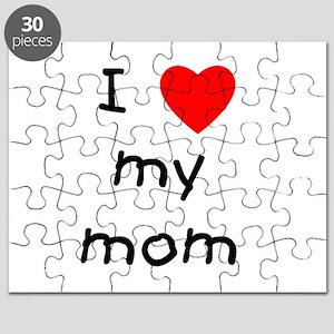 I love my mom Puzzle