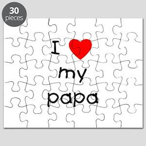 I love my papa Puzzle