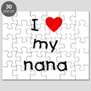 I love my nana Puzzle