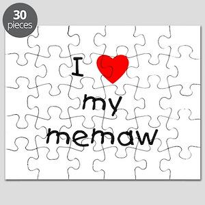 I love my memaw Puzzle