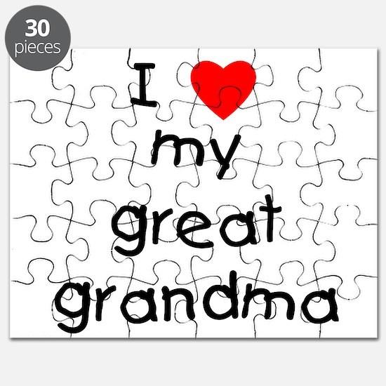 I love my great grandma Puzzle