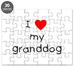 I love my granddog Puzzle
