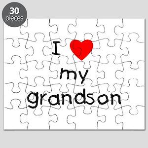 I love my grandson Puzzle