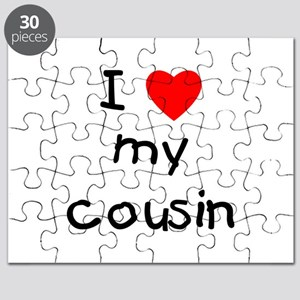 I love my cousin Puzzle