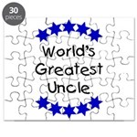 World's Greatest Uncle Puzzle