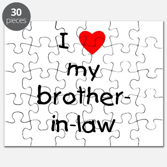 I love my brother-in-law Puzzle