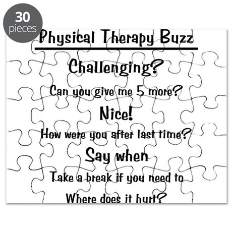 Physical Therapy Buzz Puzzle