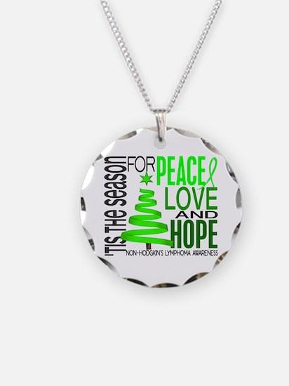Christmas 1 Non-Hodgkin's Lymphoma Necklace