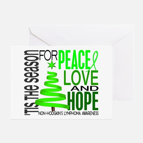 Christmas 1 Non-Hodgkin's Lymphoma Greeting Card