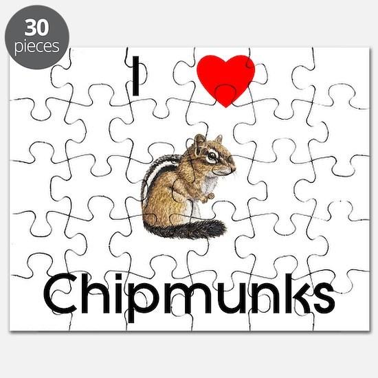 I love chipmunks Puzzle