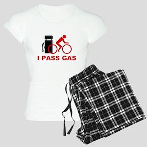 I PASS GAS bicyclist Women's Light Pajamas
