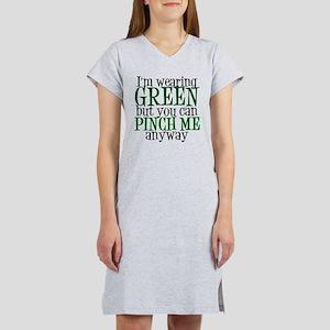 Green St. Patricks Women's Nightshirt