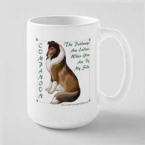 Collie Companion Large Mug