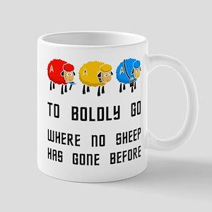 Where no Sheep Has Gone Mug