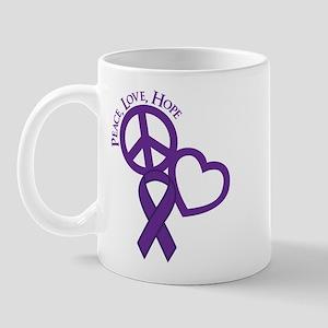 Peace,Love,Hope Mug
