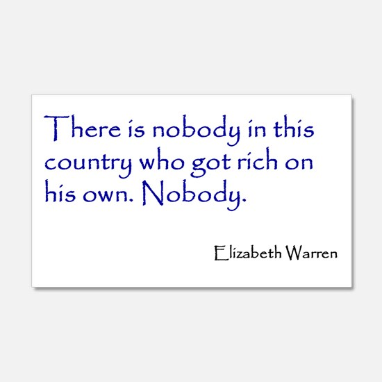 Warren Quote Wall Decal