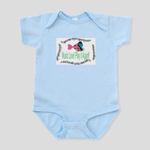 Music Love Infant Bodysuit