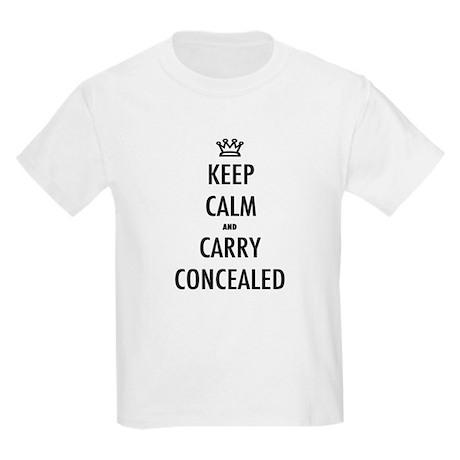 Carry Concealed Kids Light T-Shirt