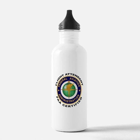 Flight Attendant Water Bottle